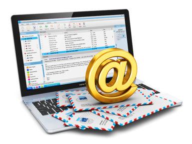 Domain on myös sähköpostiosoite